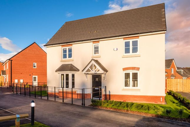 "Thumbnail Detached house for sale in ""Layton"" at The Walk, Withington, Hereford"