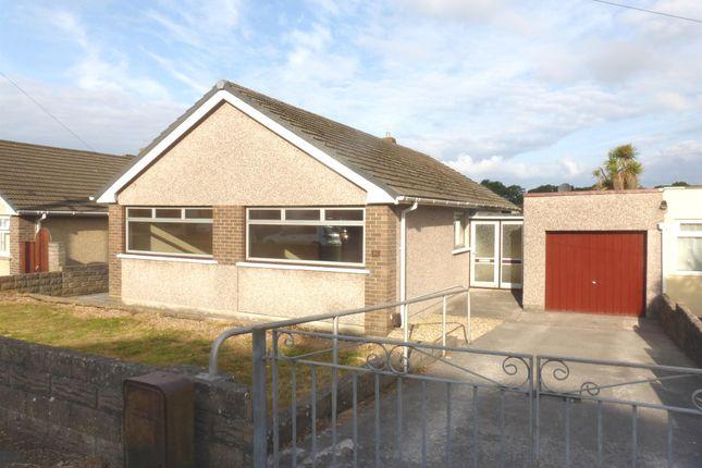 Detached bungalow for sale in Heol Maendy, North Cornelly, Bridgend