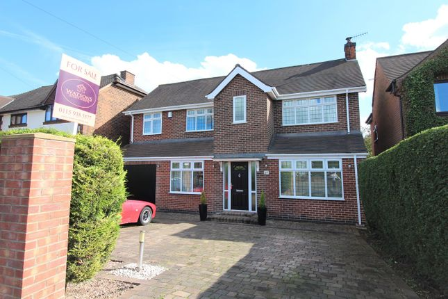 Thumbnail Detached house for sale in Philip Avenue, Nuthall, Nottingham