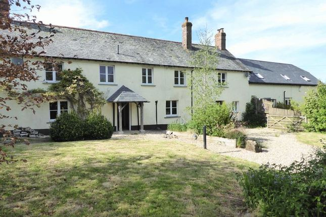 Thumbnail Farmhouse for sale in Exbourne, Okehampton