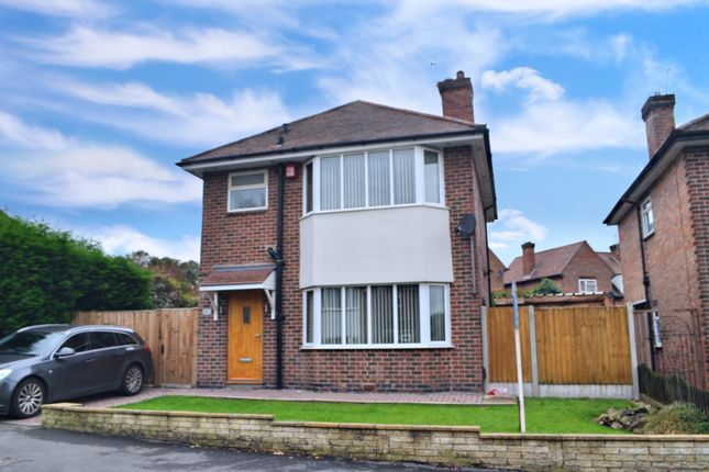 Thumbnail 4 bed detached house to rent in Jackson Avenue, Derby, Derbyshire