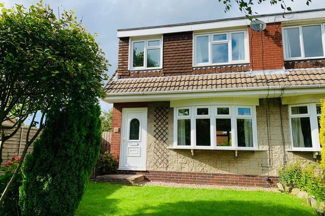 Thumbnail Semi-detached house to rent in Camborne Close, Congleton