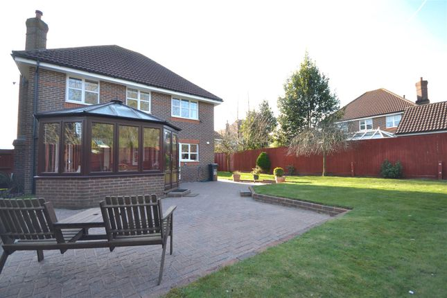 Garden of Heathside Place, Epsom KT18