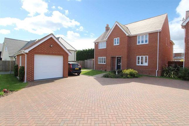 Thumbnail Detached house for sale in Edward Marke Drive, Fingringhoe Road, Langenhoe, Colchester