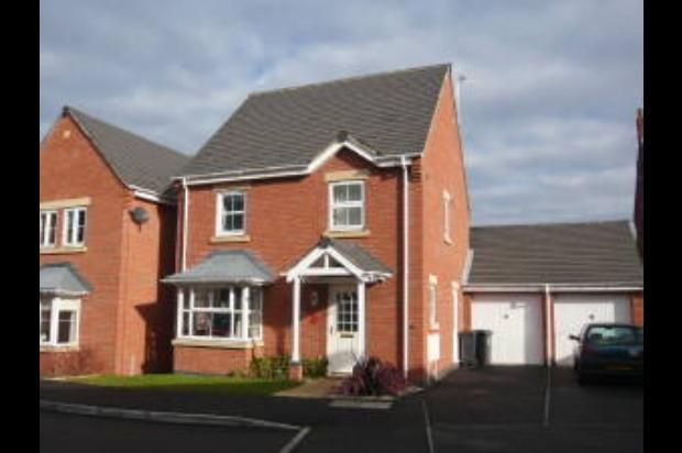 Thumbnail Detached house to rent in Hollands Way, Kegworth, Derby