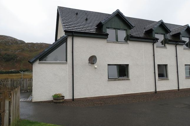 Thumbnail Flat for sale in Sydneys Way, Poolewe, Achnasheen