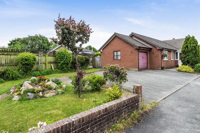 Thumbnail Detached bungalow for sale in Guidfa Meadow, Cross Gates, Nr Llandrindod Wells