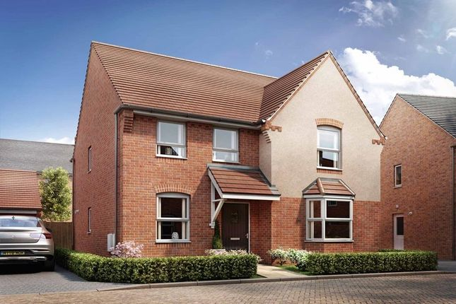 "Thumbnail Detached house for sale in ""Holden"" at Broughton Crossing, Broughton, Aylesbury"
