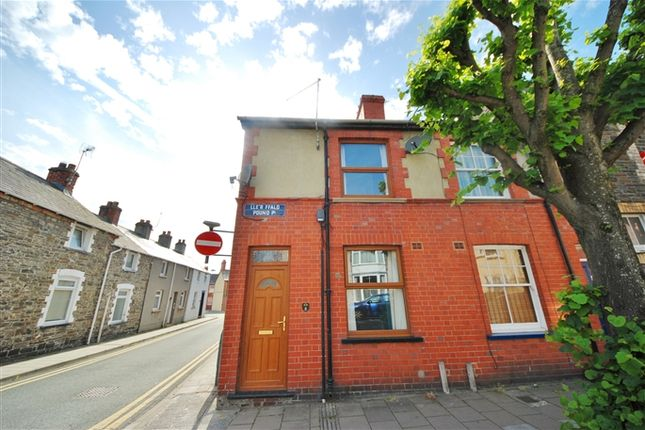 Thumbnail End terrace house to rent in Pound Place, Aberystwyth