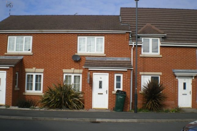 Thumbnail Terraced house to rent in Firedrake Croft, Stoke, Coventry