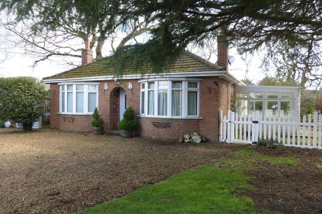 Thumbnail Detached bungalow for sale in Rabbit Lane, Downham Market