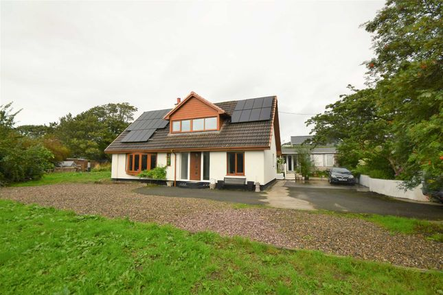 Thumbnail Detached house for sale in Tre'r Ddol, Machynlleth, Powys