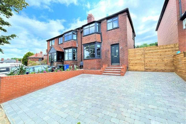 Thumbnail Semi-detached house for sale in Marlborough Road, Hyde, Cheshire