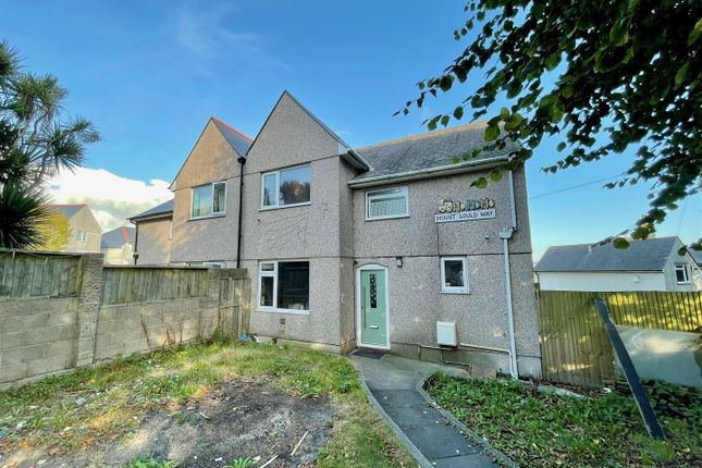 Thumbnail Semi-detached house for sale in Mount Gould Way, Plymouth