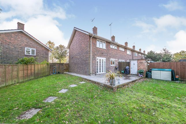 Thumbnail End terrace house for sale in The Birches, Crawley