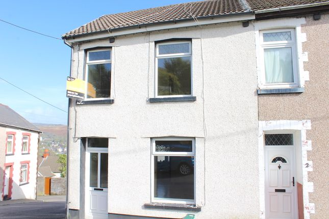 Thumbnail End terrace house to rent in Ely Street, Tonypandy