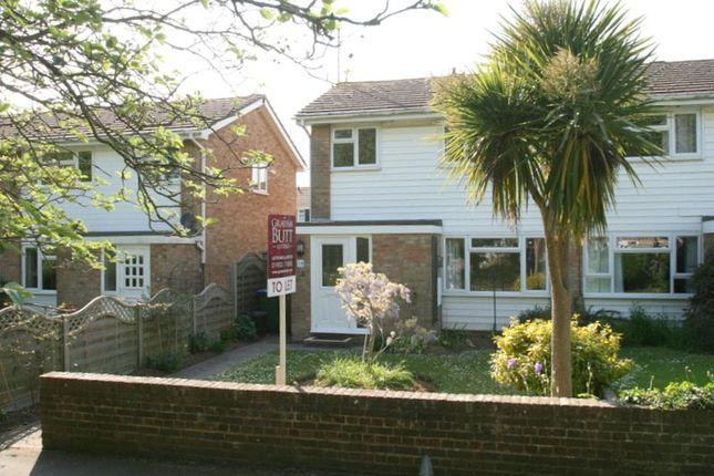 Thumbnail Semi-detached house to rent in The Haven, Littlehampton