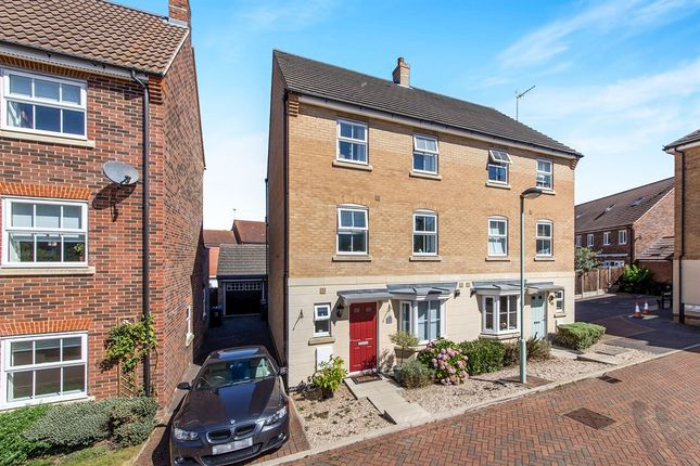 Thumbnail Semi-detached house for sale in Lady Margaret Gardens, Ware