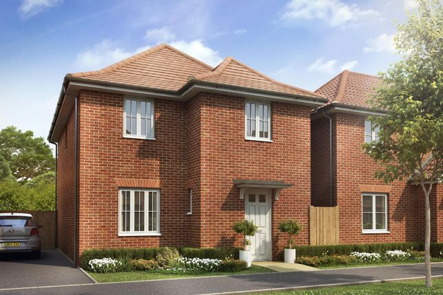 "Thumbnail 4 bedroom detached house for sale in ""Kington"" at Dorman Avenue North, Aylesham, Canterbury"