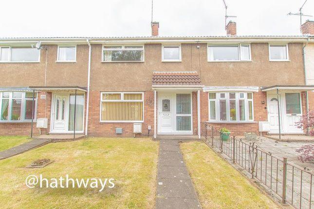 Thumbnail Terraced house for sale in Dinas Path, Fairwater, Cwmbran
