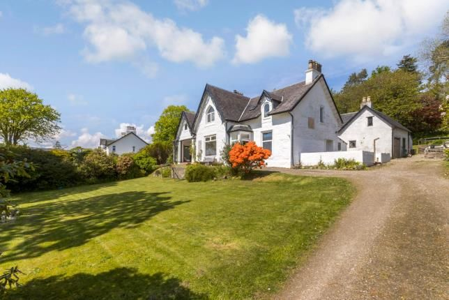 Thumbnail Detached house for sale in Shore Road, Kilcreggan, Argyll And Bute, Scotland