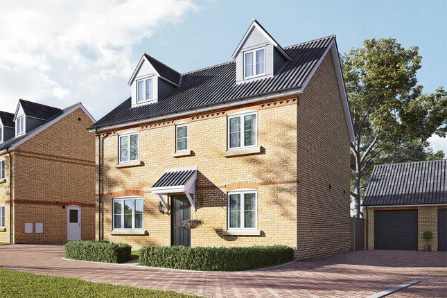 "Thumbnail Detached house for sale in ""The Lutyens"" at Newmarket Road, Royston"