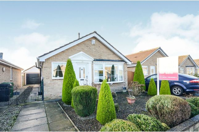 Thumbnail Detached bungalow for sale in Greenshaw Drive, Haxby, York