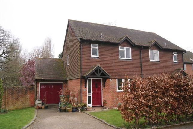 2 bed semi-detached house to rent in Eggars Field, Bentley, Farnham GU10