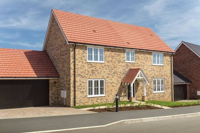 "Thumbnail Detached house for sale in ""The Ashdon"" at Bury Water Lane, Newport, Saffron Walden"