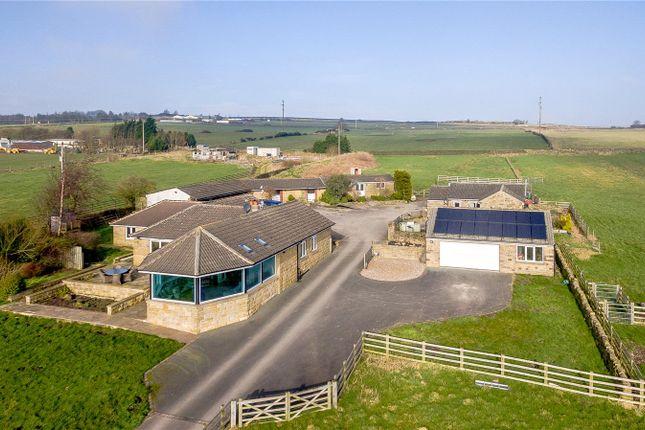 Thumbnail Detached bungalow for sale in Woodlands Farm, Cross Lane, Guiseley, Leeds, West Yorkshire