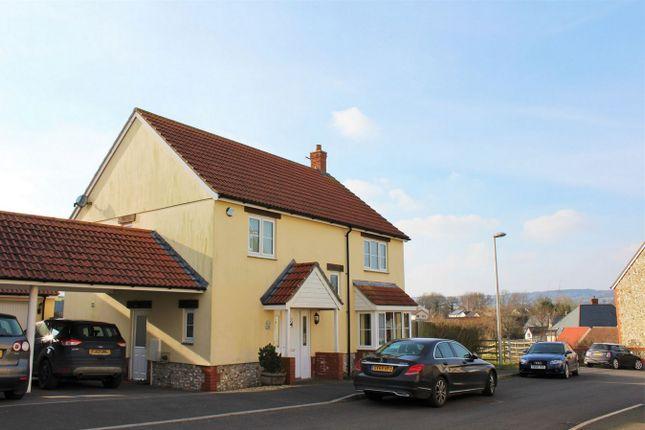 Thumbnail Detached house for sale in Churchills Rise, Hemyock, Devon