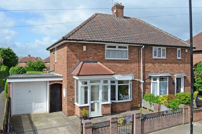 Thumbnail Semi-detached house for sale in Leeside, York