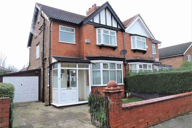 Thumbnail Semi-detached house for sale in Austin Grove, Burnage, Manchester