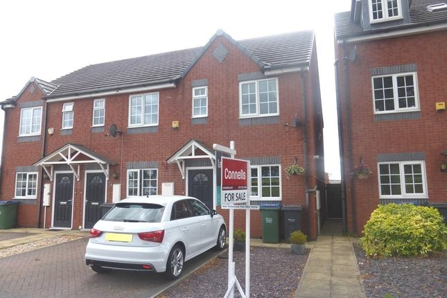 Thumbnail End terrace house for sale in Sydney Road, Cradley Heath