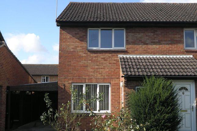 Thumbnail Semi-detached house to rent in Barfleur Close, Abingdon