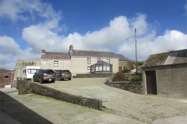 Thumbnail Detached house for sale in Esgerddeugoed, Cwmfelin Mynach, Whitland, Carmarthenshire