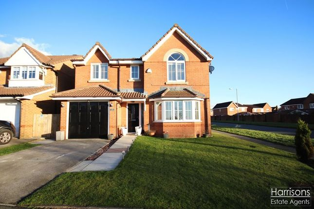Thumbnail Detached house for sale in Sandyway Close, Westhoughton, Bolton, Lancashire.