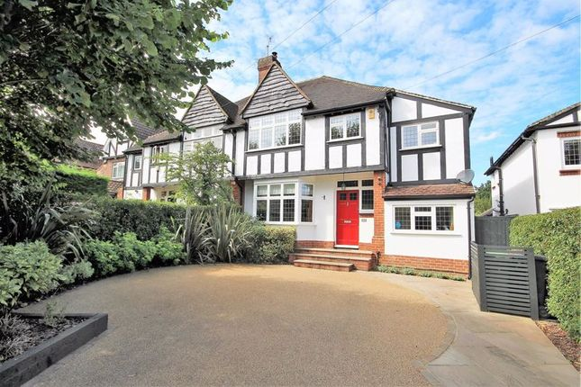 Thumbnail Semi-detached house for sale in Worrin Road, Shenfield, Brentwood