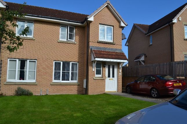 Thumbnail Semi-detached house to rent in Salters Way, Saltcoats, North Ayrshire