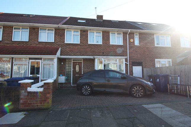 Thumbnail Terraced house to rent in Darwin Drive, Southall