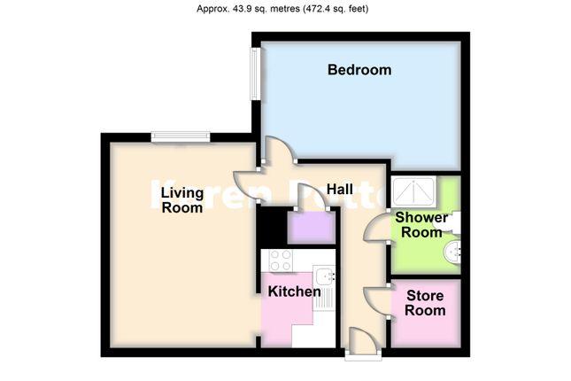 2d Floor Plan of Park Road, Hesketh Park, Southport PR9