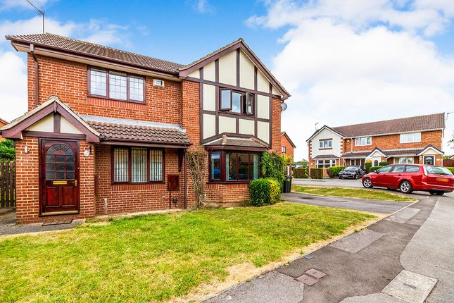 Thumbnail Semi-detached house to rent in Boundary Walk, Brinsworth, Rotherham