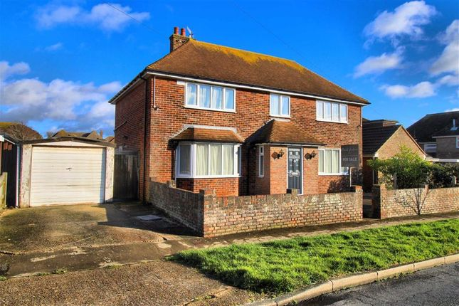 Thumbnail Detached house for sale in Highlands Road, Seaford, East Sussex