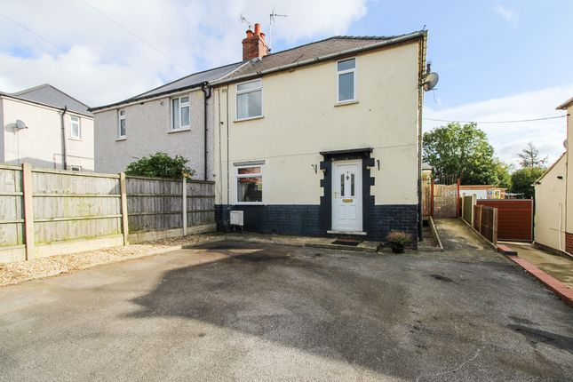 Thumbnail 3 bed semi-detached house for sale in Jubilee Crescent, Clowne, Chesterfield