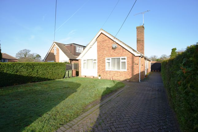 Thumbnail Detached bungalow for sale in Firacre Road, Ash Vale