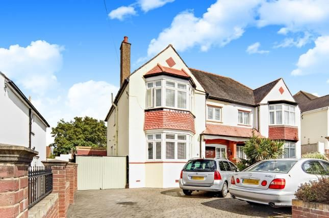 Thumbnail Semi-detached house for sale in Meadow Road, Sutton, Surrey, England
