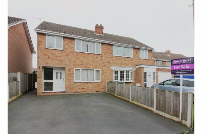 Thumbnail Semi-detached house for sale in Hollywood Drive, Bridgnorth