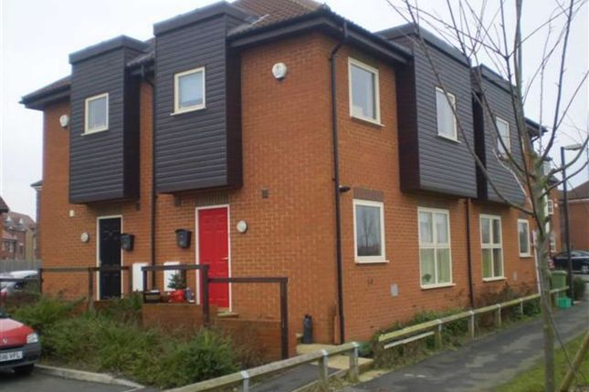 Thumbnail Terraced house to rent in Levens Hall Drive, Westcroft, Milton Keynes