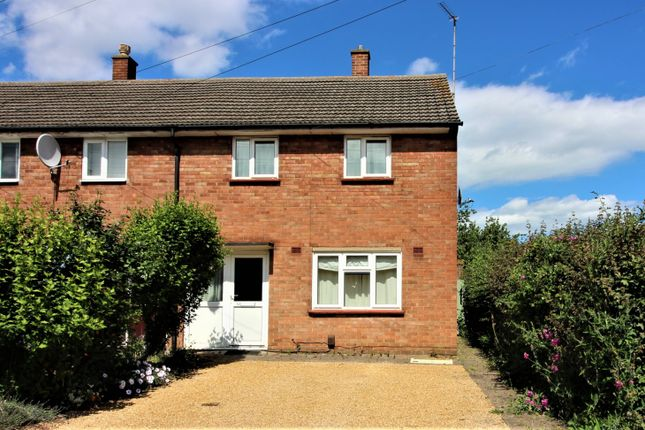 Thumbnail End terrace house to rent in Wagstaff Close, Cambridge