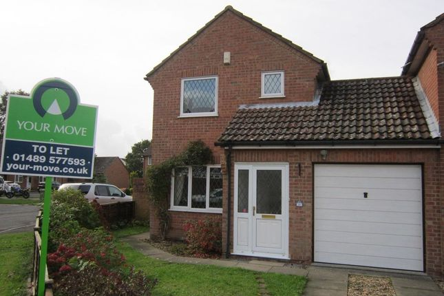 Thumbnail Detached house to rent in Ryecroft, Fareham
